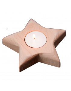 Waxinelichtje ster