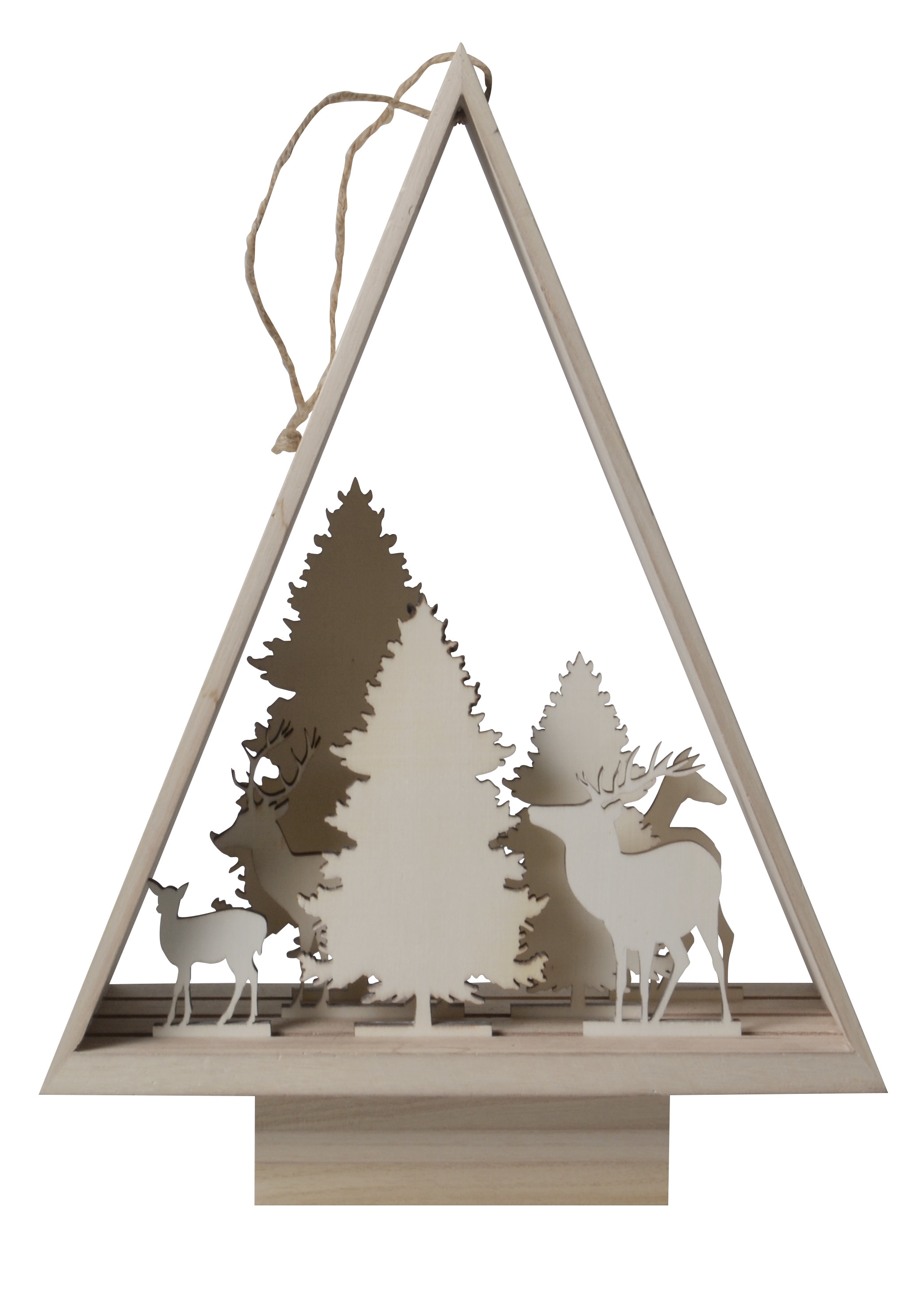 3d Kerstboom Silhouet Houtenkerststal Nl Kerststallen En Meer