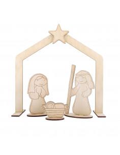 Kerststal Margriet